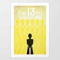 The 13th Warrior Art Print