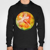 Dragonfly In Embroidered… Hoody