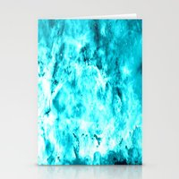 turquoise Stationery Cards featuring Turquoise by 2sweet4words Designs