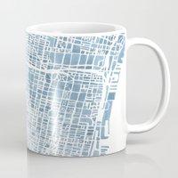 Philadelphia City Map Mug