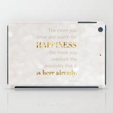 Happiness iPad Case