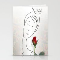 A non-word mood Stationery Cards