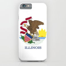 State flag of Illinois - Authentic color and scale Slim Case iPhone 6s