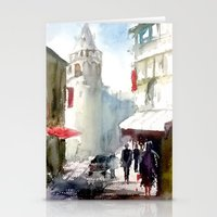 Galata Tower İstanbul Stationery Cards
