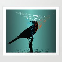 At The Birds Eye  Art Print