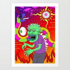 Hero-In Art Print