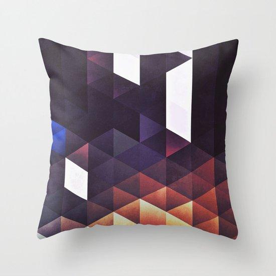 myga myga Throw Pillow