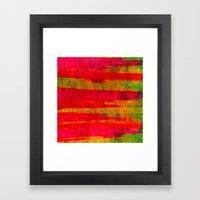 FIERCE - Intense Wild Na… Framed Art Print