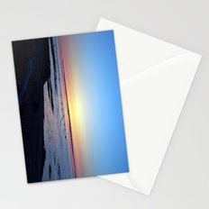 Sun Sets up the River, Across the Sea Stationery Cards