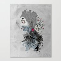 The Sailor Of The Cities Canvas Print