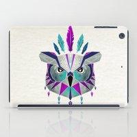 owl king iPad Case