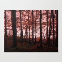 Autumn in the Woods 4 Canvas Print
