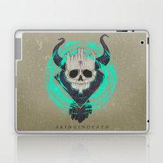 A KING IN DEATH Laptop & iPad Skin