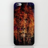 lion abstract 76765 iPhone & iPod Skin