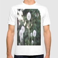 Dandelions Mens Fitted Tee White SMALL