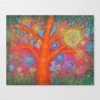 The Orange Tree Canvas Print