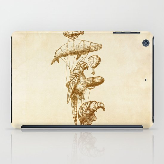 The Helium Menagerie (sepia) iPad Case