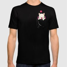 Kupocket Black Mens Fitted Tee SMALL