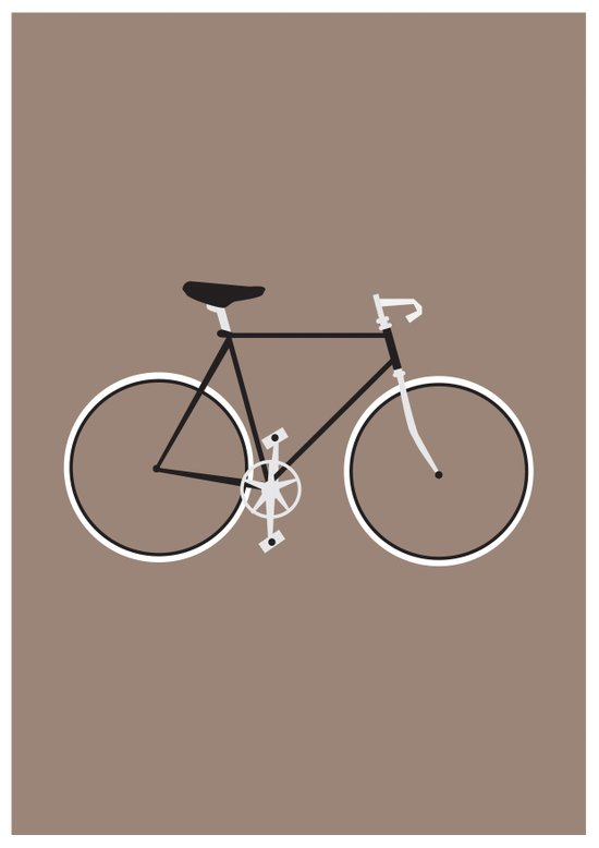 Single Speed Art Print
