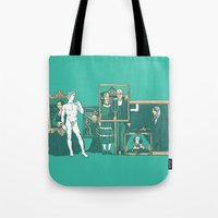 Meeting the parents Tote Bag