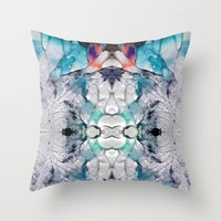Transcends Throw Pillow