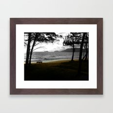 Bench... Framed Art Print