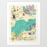 The Princess Bride Disco… Art Print