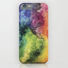 Rainbow Tie Dye Watercolor iPhone 6 Slim Case