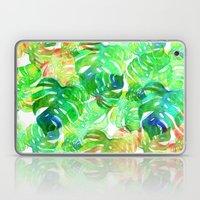 Tropical Leaf Print Laptop & iPad Skin