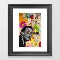 Public  Figures Collection -- Dali Framed Art Print