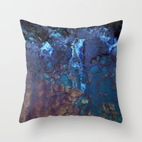 Waterfall II Throw Pillow