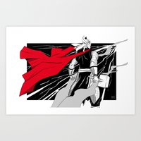 The God Of Thunder Art Print