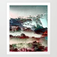 Untitled tree scene Art Print