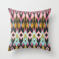 Bohemian Tribal Throw Pillow