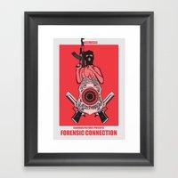 Forensic Science Framed Art Print