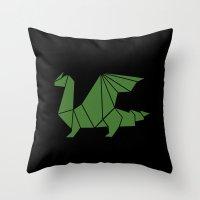 Draconis Throw Pillow