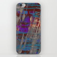 Depth - Abstract, Textured Oil Painting iPhone & iPod Skin