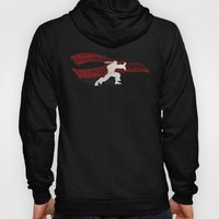 Friendship & Fireballs (Homage to Ryu of Street Fighter) Hoody