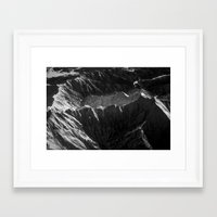 Mountains in Japan Framed Art Print