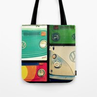VW Collage Tote Bag