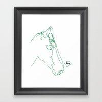 Hey Is For Horses Framed Art Print