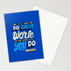 RIP Steve Jobs Stationery Cards