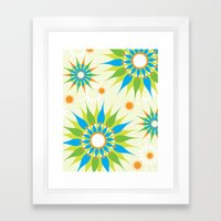 Popsy Twirl Bright Framed Art Print