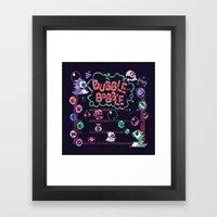 Bubble Bobble Framed Art Print