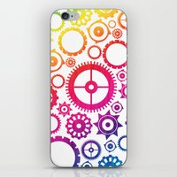 Color Cogs. iPhone & iPod Skin