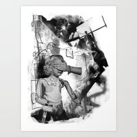 Nameless Victim Art Print