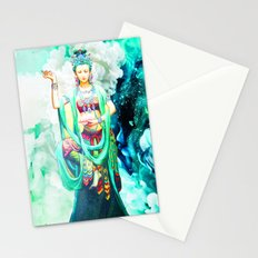 The Goddess of Mercy Stationery Cards