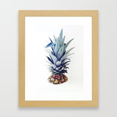 Pineapple Scalping Framed Art Print