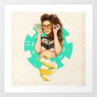 Mrs. Nevada Art Print