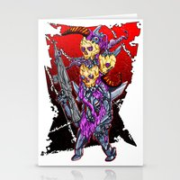 METAL MUTANT 2 Stationery Cards